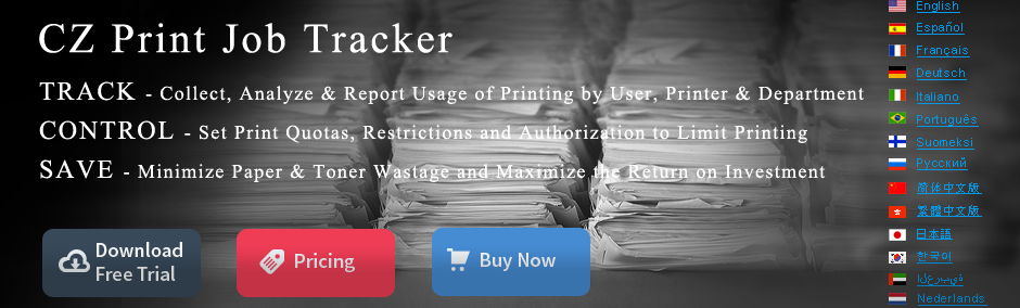 Easy to Use Printer Management Software